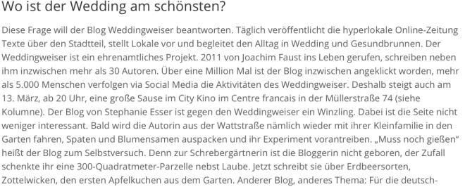 Artikel Berliner Abendblatt 7.3.15